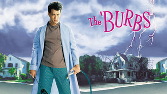Netflix box art for The 'Burbs