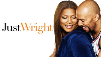 Netflix box art for Just Wright