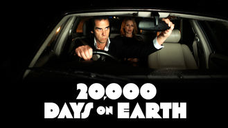 Netflix box art for 20,000 Days on Earth