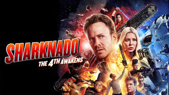 Netflix box art for Sharknado: The 4th Awakens
