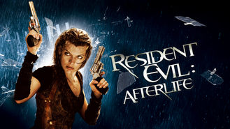 Netflix box art for Resident Evil: Afterlife