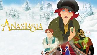 Netflix box art for Anastasia
