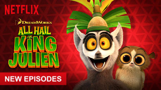 Netflix box art for All Hail King Julien - Season 3