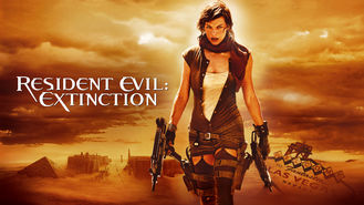Netflix box art for Resident Evil: Extinction