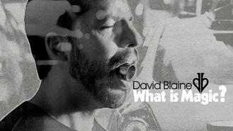 Netflix box art for David Blaine: What Is Magic?