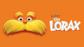Netflix box art for Dr. Seuss' The Lorax