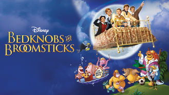 Netflix box art for Bedknobs and Broomsticks