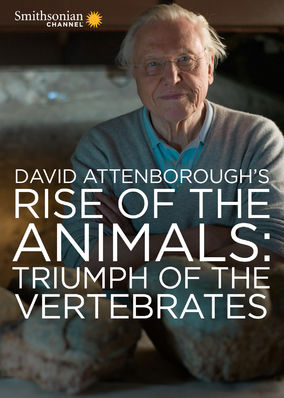 Box art for David Attenborough's Rise of Animals: Triumph of the Vertebrates