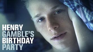 Netflix box art for Henry Gamble's Birthday Party