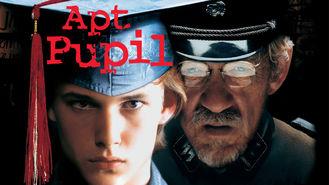 Netflix box art for Apt Pupil