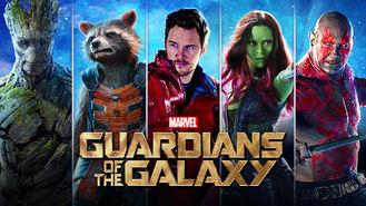 Netflix Box Art for Guardians of the Galaxy