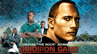 Netflix box art for Gridiron Gang