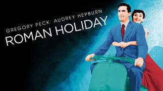 Netflix box art for Roman Holiday