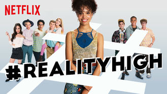 Netflix box art for #realityhigh