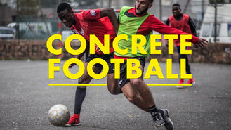 Netflix box art for Concrete Football