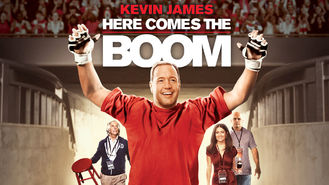 Netflix box art for Here Comes the Boom