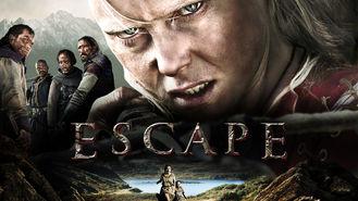 Netflix box art for Escape