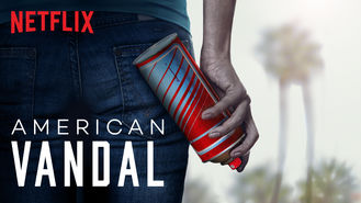 Netflix box art for American Vandal - Season 1