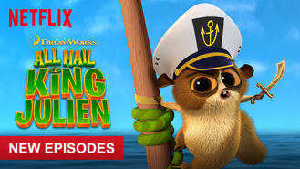 Netflix box art for All Hail King Julien - Season 3