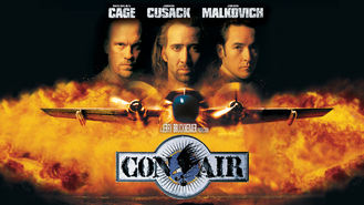 Netflix box art for Con Air