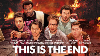 Netflix box art for This Is the End