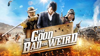 Netflix box art for The Good, the Bad, the Weird