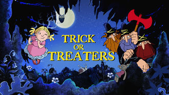 Netflix box art for Trick or Treaters