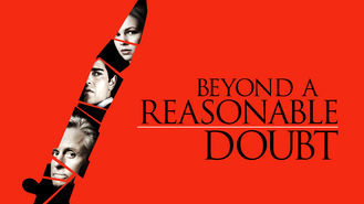 Netflix box art for Beyond a Reasonable Doubt