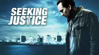 Netflix box art for Seeking Justice