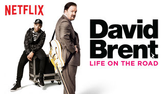 Netflix box art for David Brent: Life on the Road