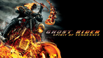 Netflix box art for Ghost Rider: Spirit of Vengeance