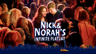Netflix box art for Nick and Norah's Infinite Playlist
