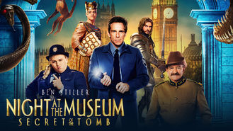 Netflix box art for Night at the Museum: Secret of the Tomb