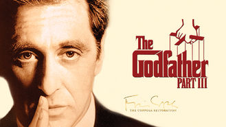 Netflix box art for The Godfather: Part III