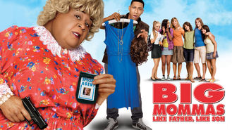 Netflix box art for Big Mommas: Like Father, Like Son