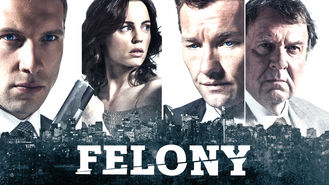 Netflix box art for Felony