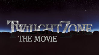 Netflix box art for Twilight Zone: The Movie