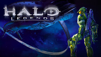 Netflix box art for HALO Legends