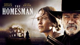 Netflix box art for The Homesman