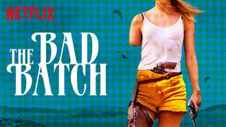 Netflix box art for The Bad Batch