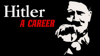Netflix box art for Hitler - A Career