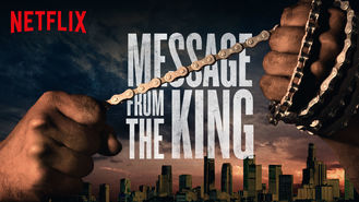 Netflix box art for Message from the King