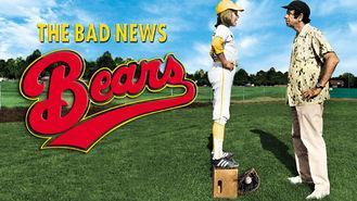 Netflix box art for The Bad News Bears
