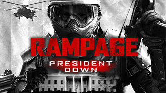 Netflix box art for Rampage: President Down