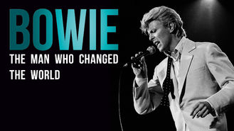 Netflix box art for Bowie: The Man Who Changed the World
