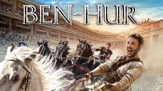 Netflix box art for Ben-Hur