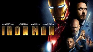 Netflix box art for Iron Man
