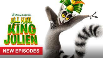 Netflix box art for All Hail King Julien - Season 2