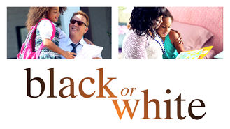 Netflix box art for Black or White