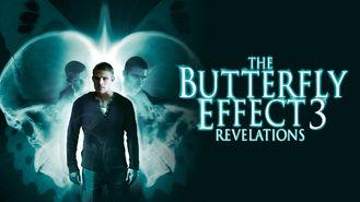 Netflix box art for The Butterfly Effect 3: Revelations